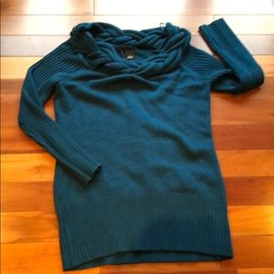 New Directions Teal Sweater Size L